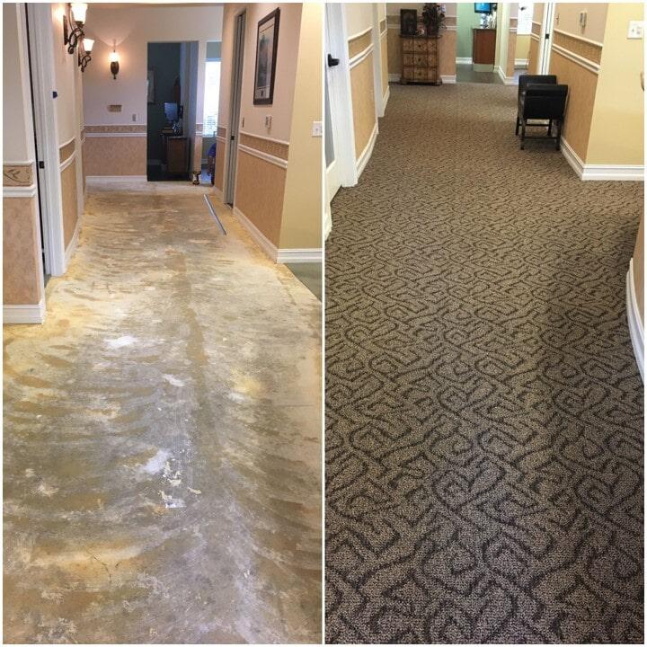 Carpet installation in Fort Pierce, FL from Carpets Etc