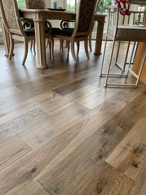 Wood flooring in South Bend, IN from Comfort Flooring
