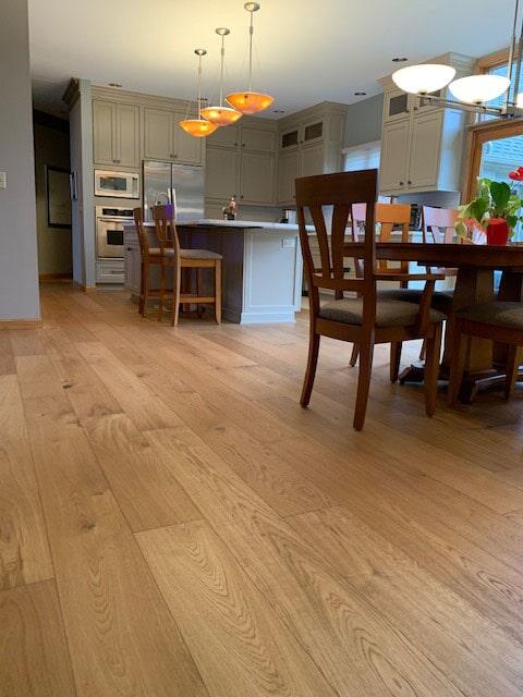 Hardwood flooring in Granger, IN from Comfort Flooring