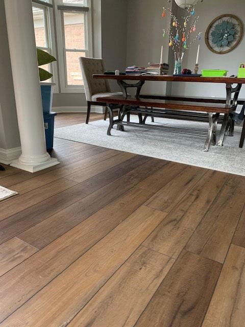 Luxury vinyl plank flooring in South Bend, IN from Comfort Flooring