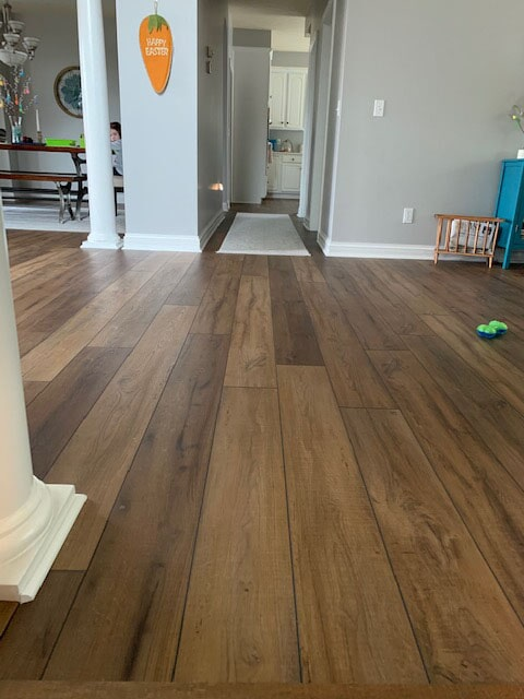 Vinyl plank flooring in Granger, IN from Comfort Flooring