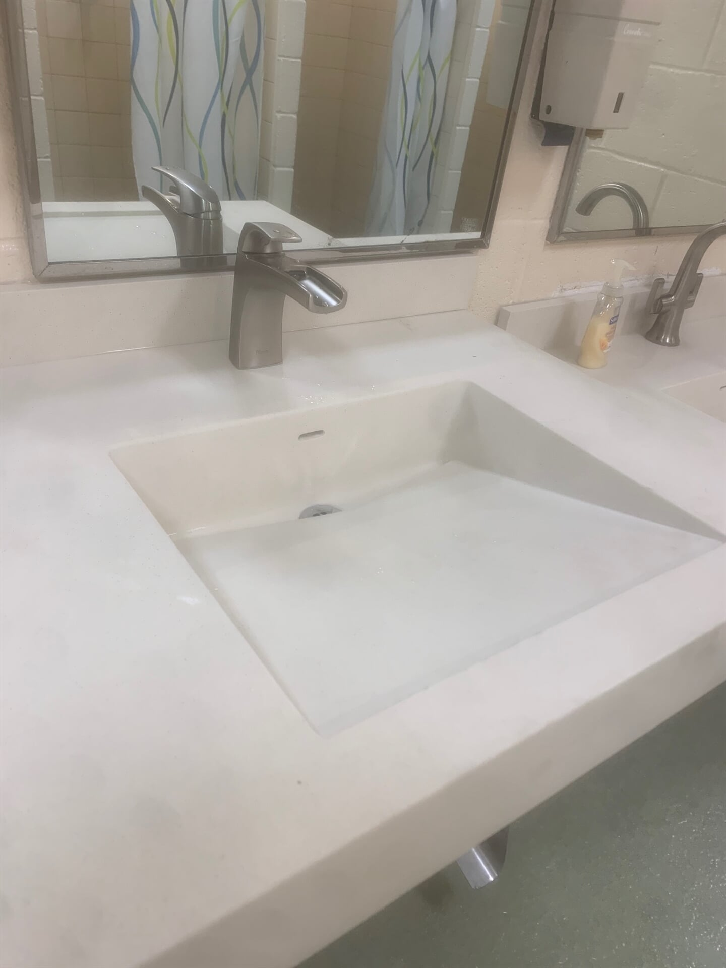 Commercial countertop installation in Germantown, MD from FLOORMAX