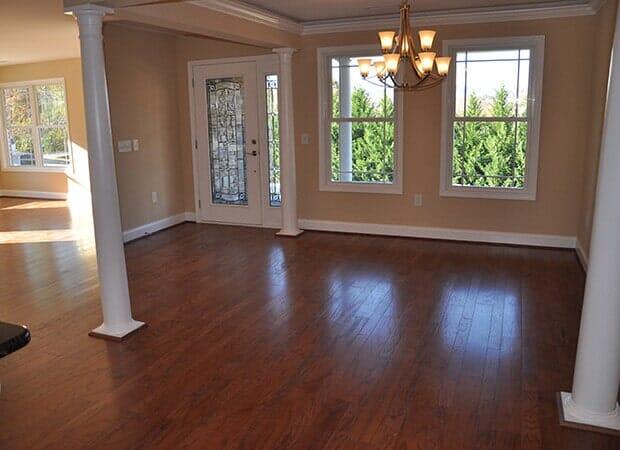 Mixed width engineered hardwood in Hudson, NC from Munday Hardwoods, Inc