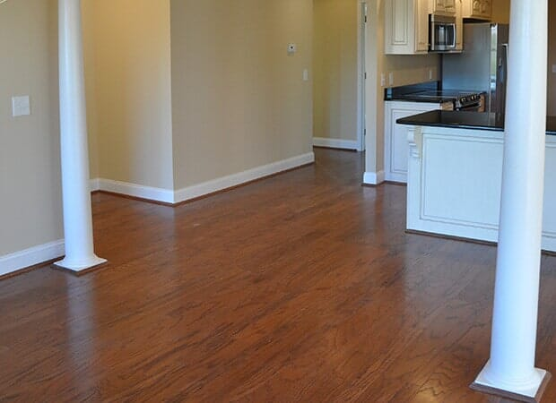 Contemporary wood floors in Hudson, NC from Munday Hardwoods, Inc