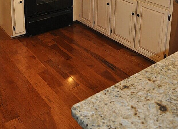 High gloss wood floors in Hickory, NC from Munday Hardwoods, Inc