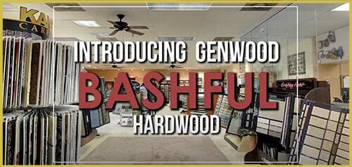 Introducing Genwood Bashful hardwood flooring at General Floor in Lakewood, NJ