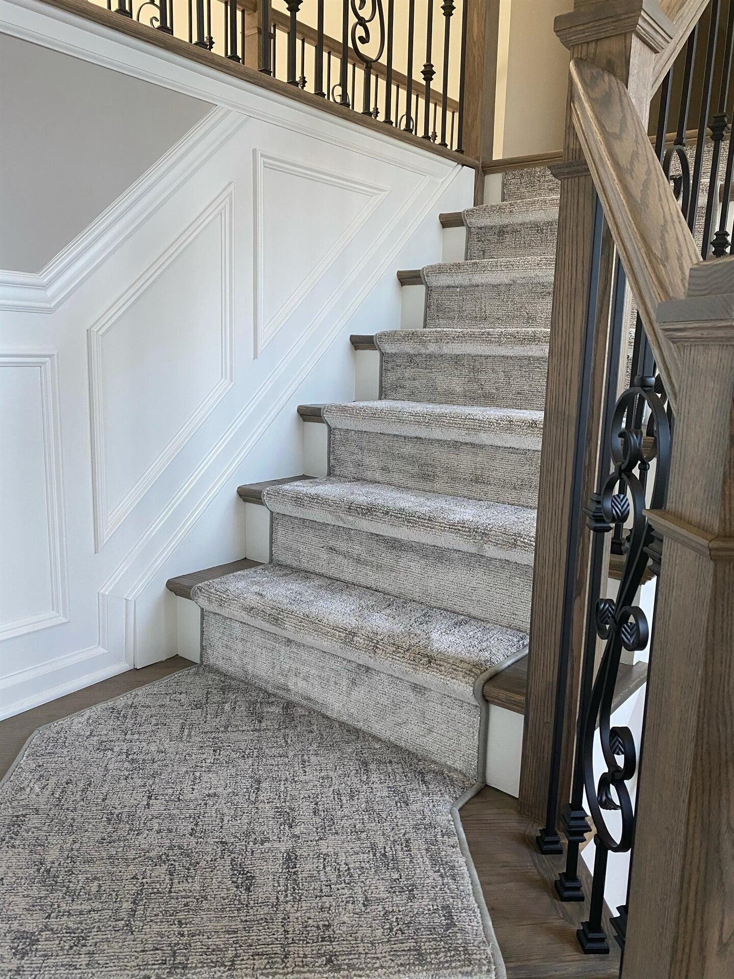 Carpet stair runner in Marlboro, NJ from Carpet Yard