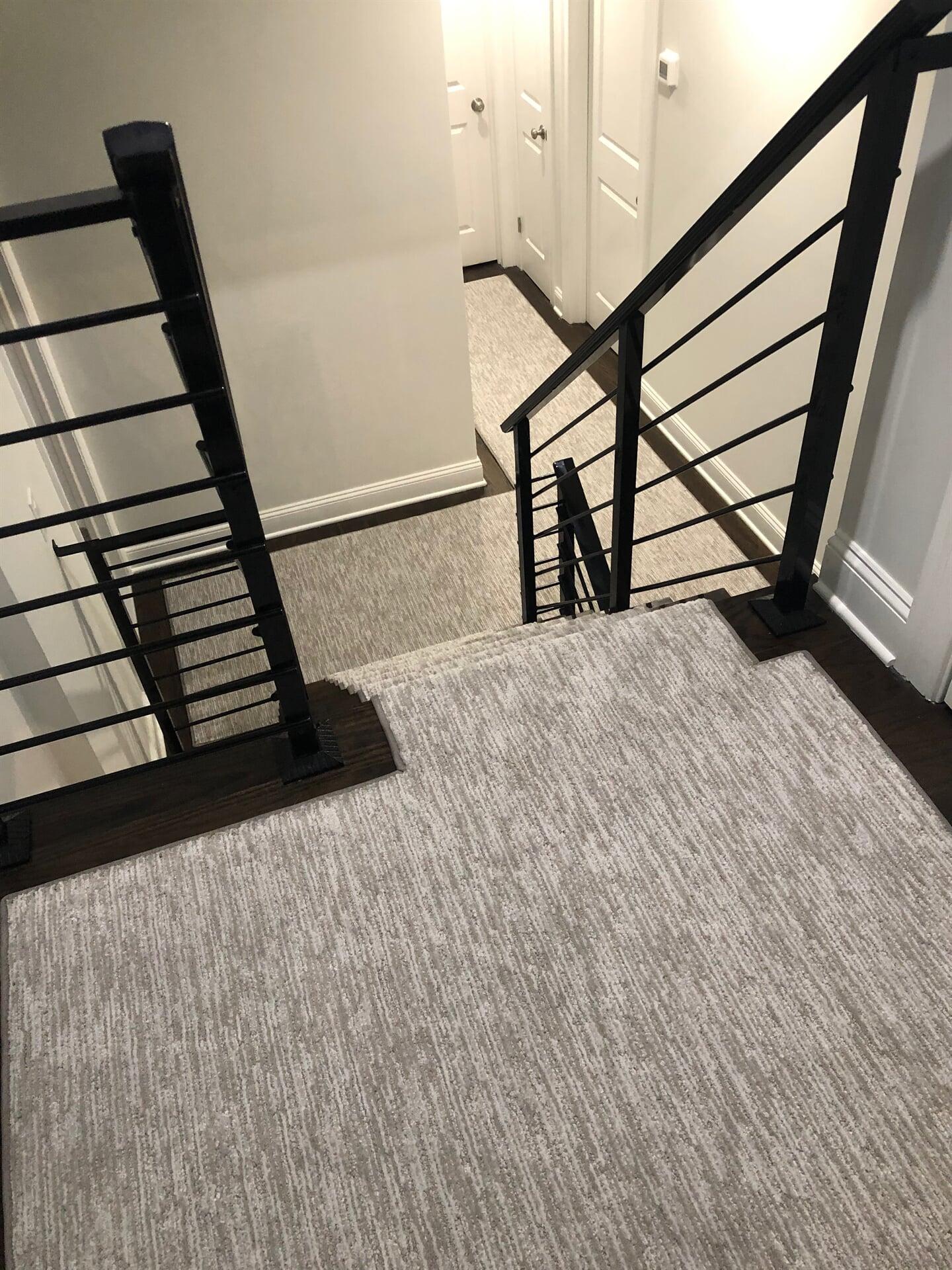Carpet stair runner in Monroe, NJ from Carpet Yard