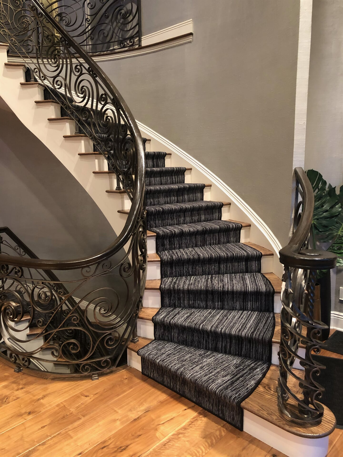 Carpet stair runner in Millstone, NJ from Carpet Yard