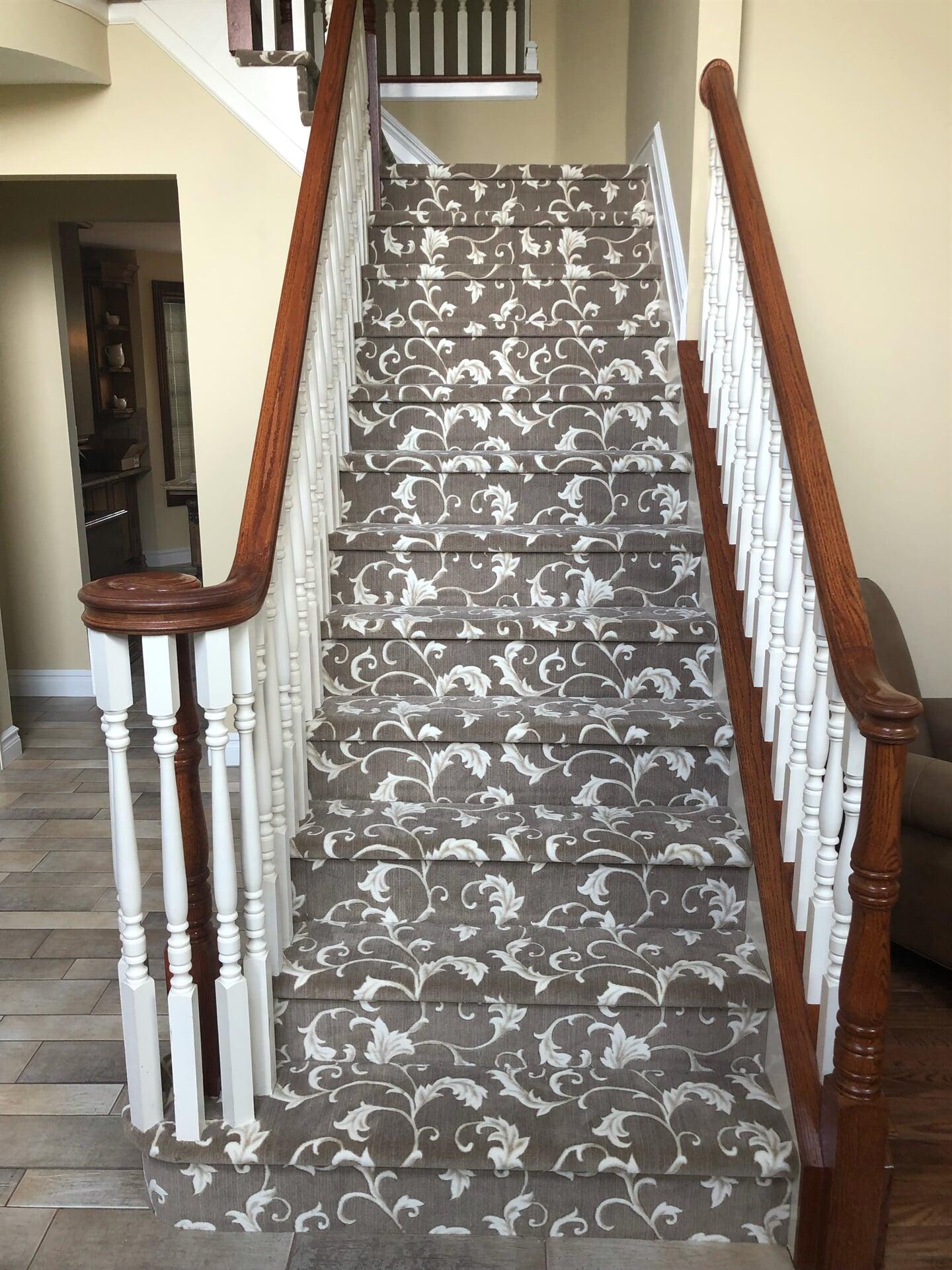 Carpet stairs in Jackson, NJ from Carpet Yard