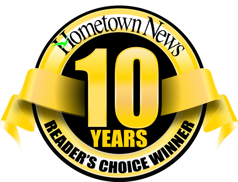 10 Year Readers' Choice Award