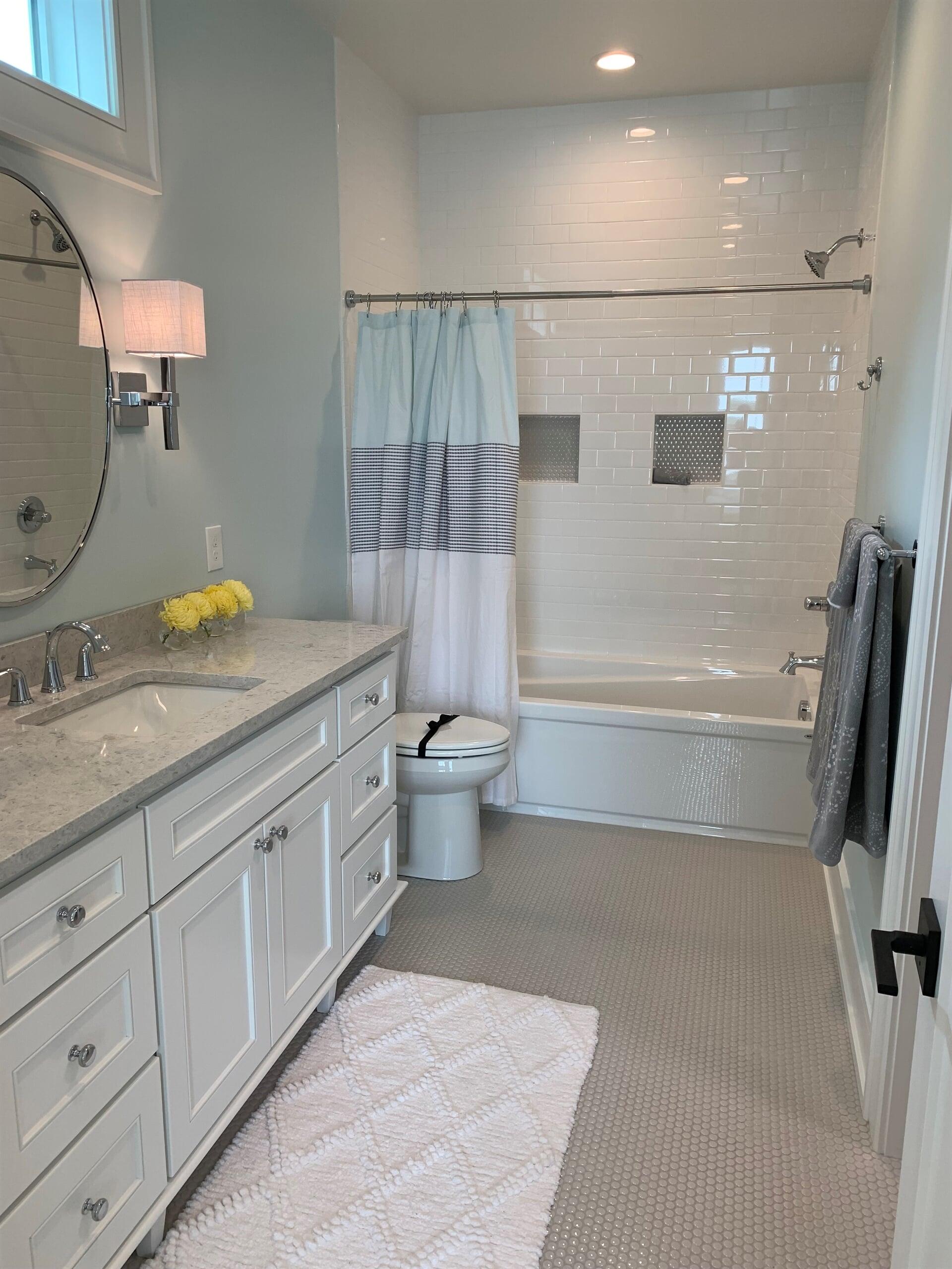 Bathroom tile in Holland, MI from Village Custom Interiors