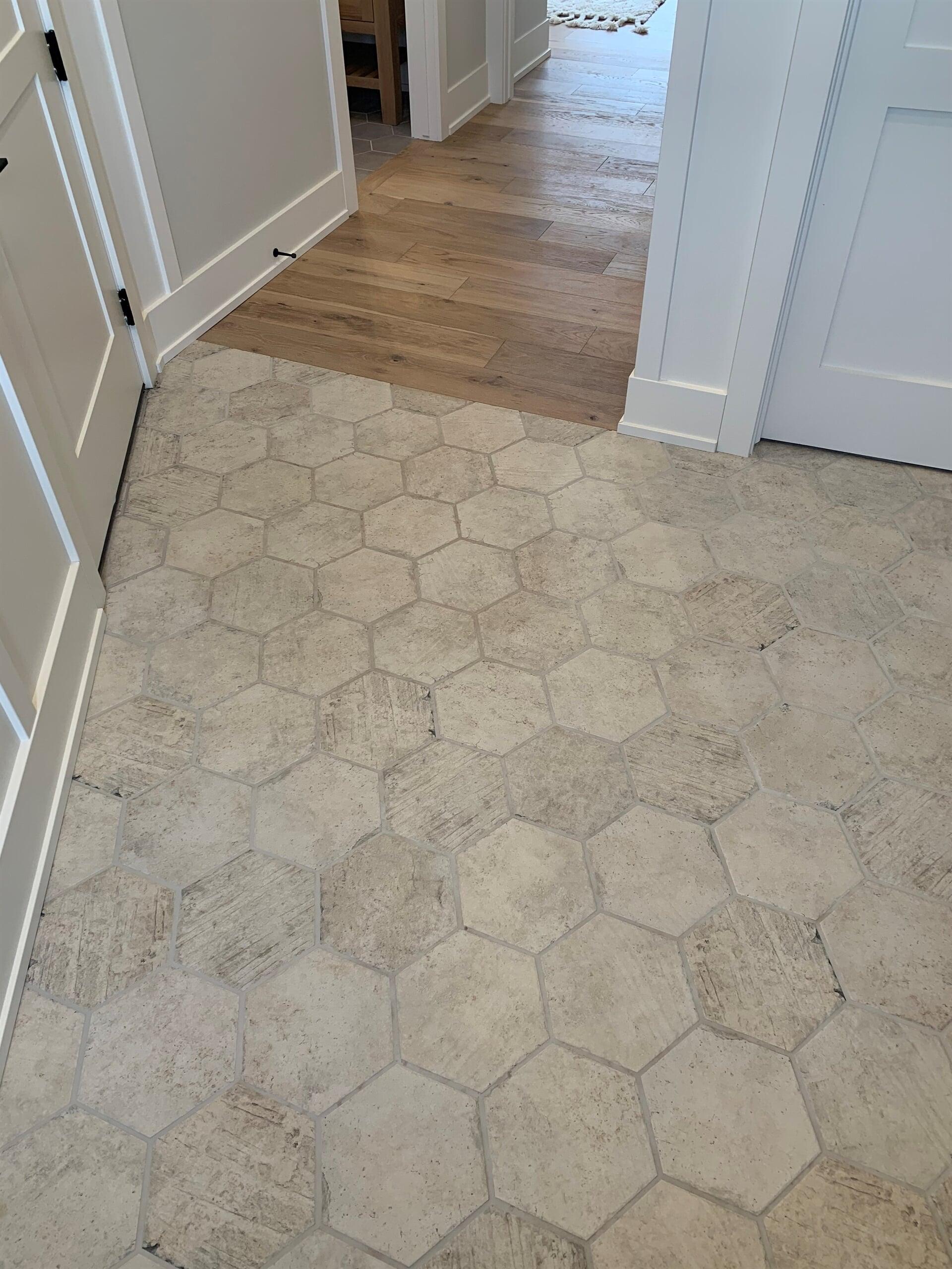 Tile flooring in Byron Center, MI from Village Custom Interiors